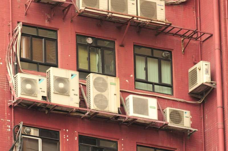 Rising energy demand for cooling