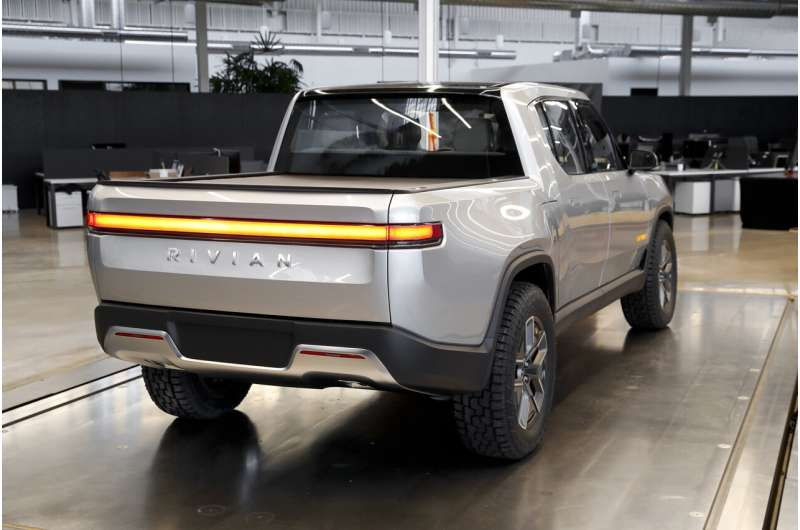 Rivian, an EV startup with big backers, files to go public