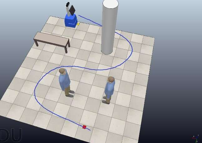 Robot enables communication between people isolated due to COVID-19 and their relatives