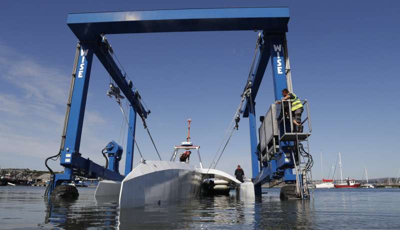 Robotic ship sets off to retrace the Mayflower's journey
