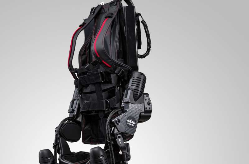 Robotic exoskeleton training expands options for stroke rehabilitation