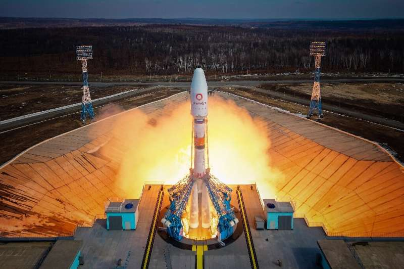 """Roscosmos said the launch and separation """"took place normally"""""""