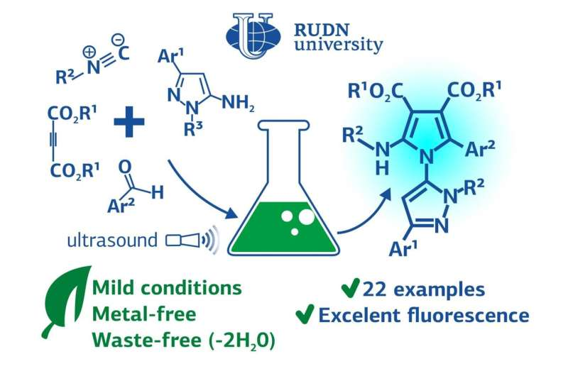 RUDN University chemist proposed eco-friendly synthesis of fluorescent compounds for medicine