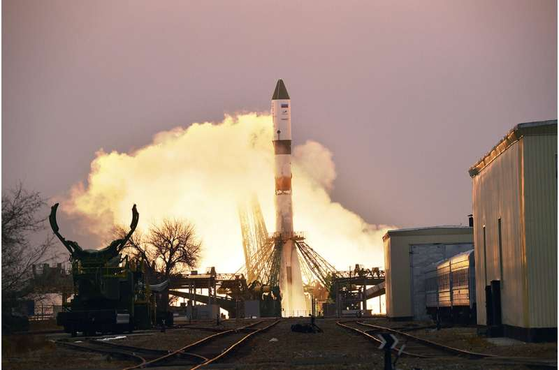Russian cargo ship launched to International Space Station