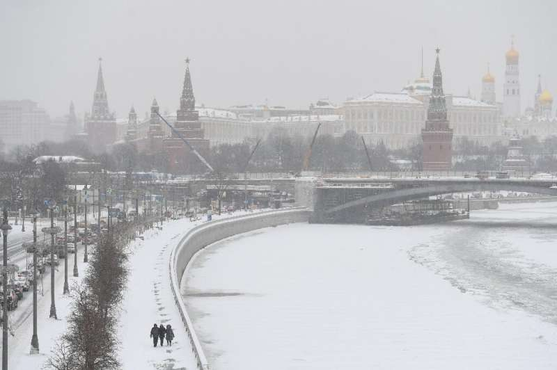 Russia's state weather agency has said the depth of snow in the capital could reach or even surpass the record high of 77 centim