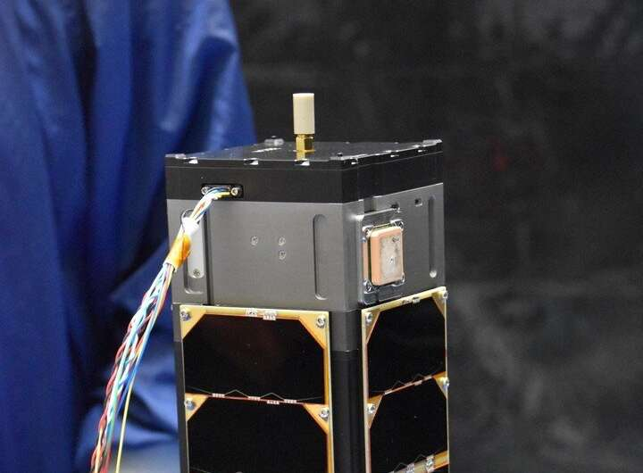 Satellite transmits test signals in Q and W band for the first time