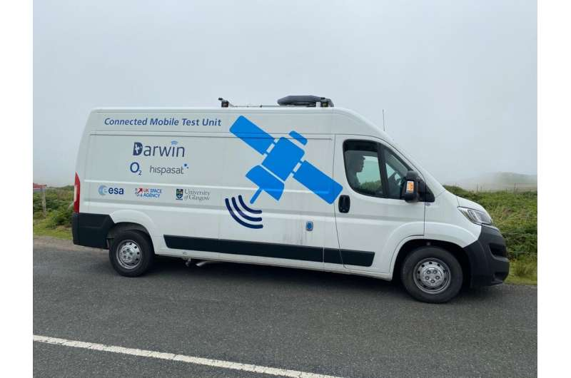 Satellites for 5G to connect delivery vans seamlessly