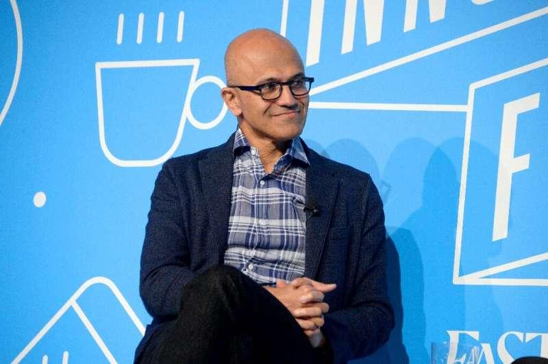 Satya Nadella, seen in November 2019, took over as Microsoft's chief executive in February 2014
