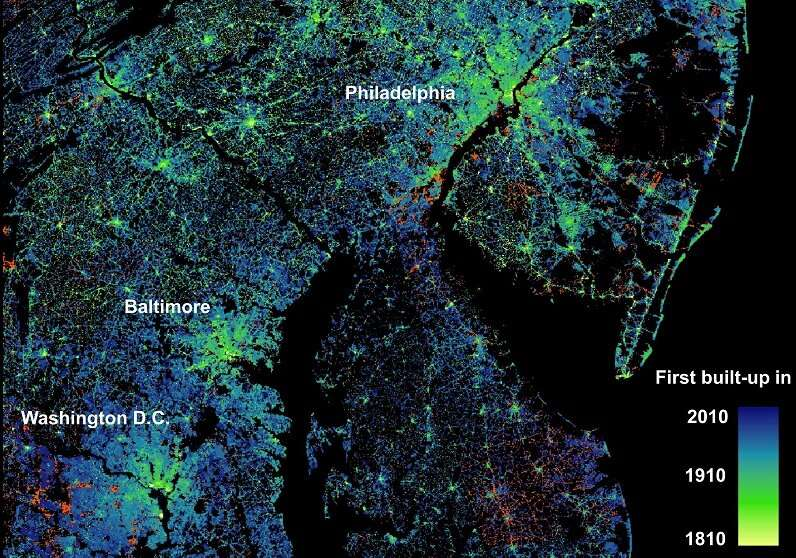 Scholars reveal the changing nature of U.S. cities
