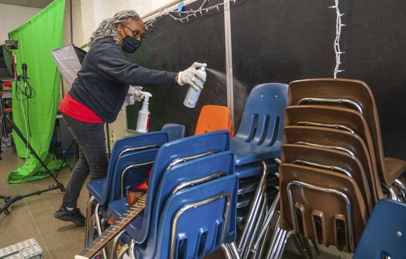 Schools weighing whether to seat students closer together