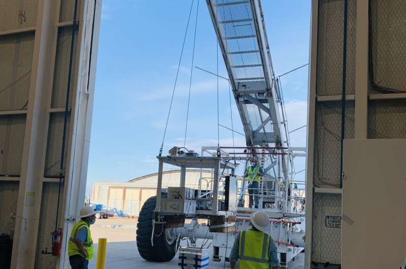 Science, student payloads fly aboard NASA's scientific balloons during fall campaign
