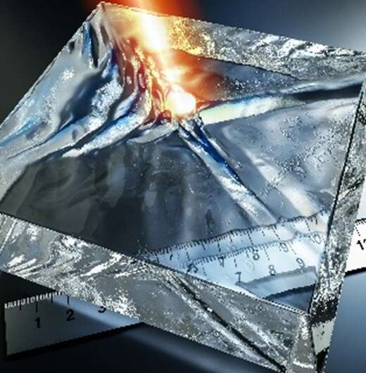 Scientists discover a new type of infrared polaritons at the surface of bulk crystals