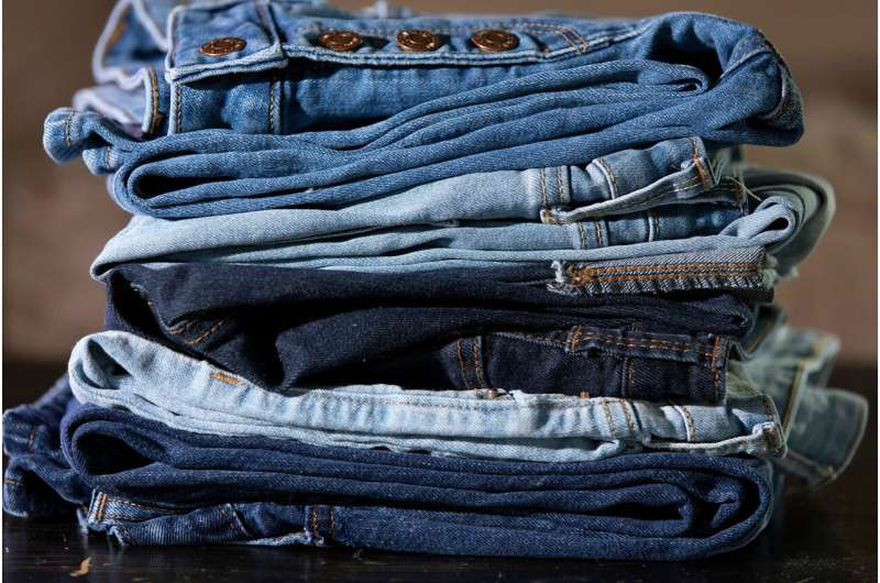 Scientists find eco-friendly way to dye blue jeans