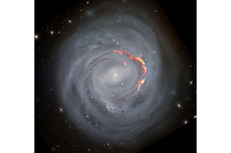 Scientists Observe Gas Re-accretion in Dying Galaxies for the First Time