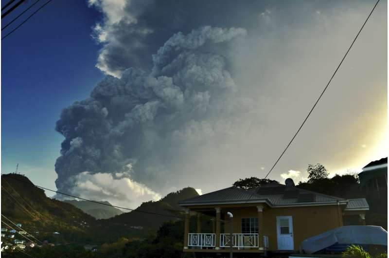 Scientists offer look into life as Caribbean volcano erupted
