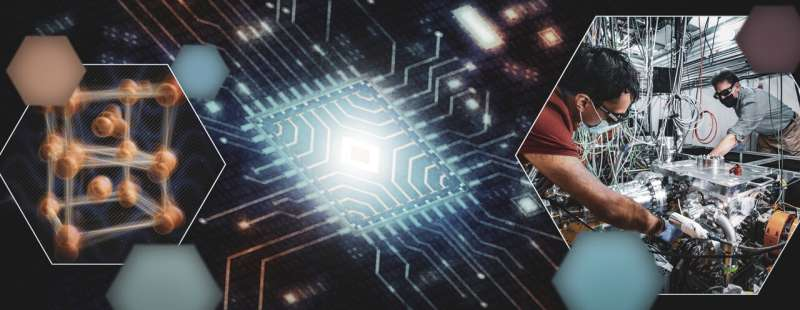 Scientists take first snapshots of ultrafast switching in a quantum electronic device
