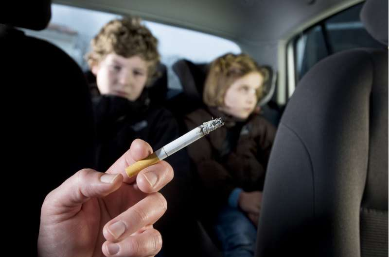 Secondhand tobacco exposure in utero linked to decreased lung function in children