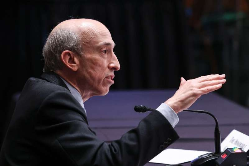 """Securities and Exchange Commission Chair Gary Gensler has described the cryptocurrency industry as """"the Wild West"""""""