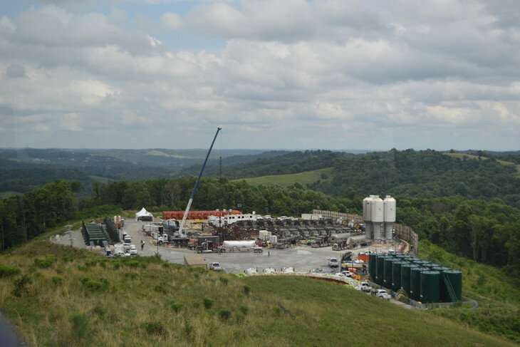 Shale gas development in Pennsylvania increases exposure of some to air pollutants