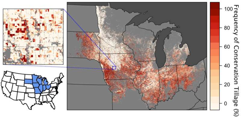 Shoring up the corn belt's soil health with NASA data