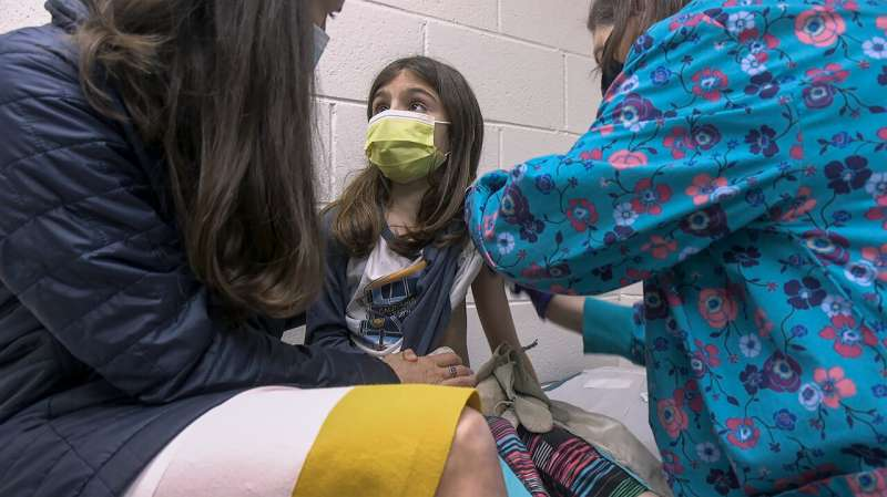 Shots in little arms: COVID-19 vaccine testing turns to kids