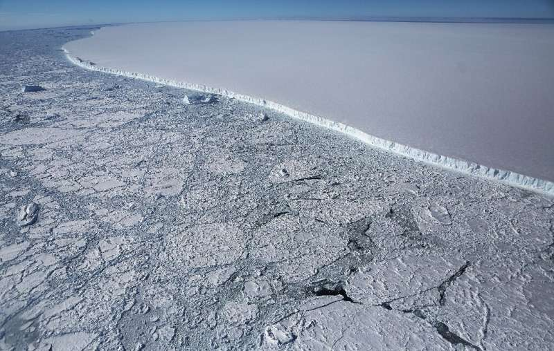 Since 1993, melting land ice has contributed to at least half of global sea level rise
