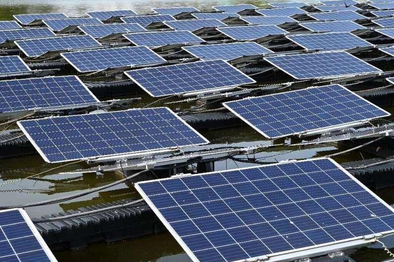 Singapore is using water-based panels to boost its solar energy use four-fold to around two percent of the city's power needs by