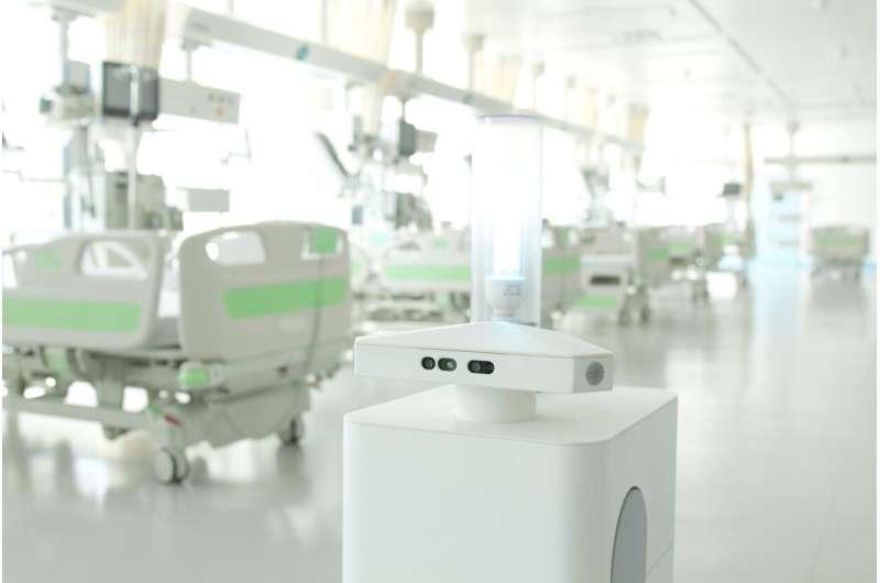 Smart robot can lend hospitals A big hand