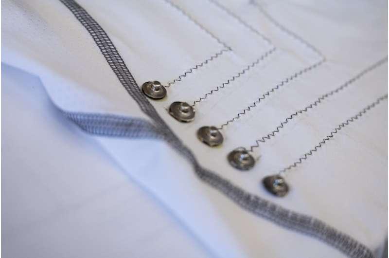'Smart' shirt keeps tabs on the heart