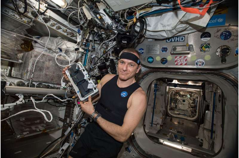 'Smart shirt' takes a trip to space for science