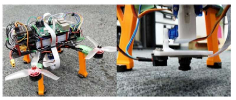 Smooth touchdown: novel camera-based system for automated landing of drone on a fixed spot