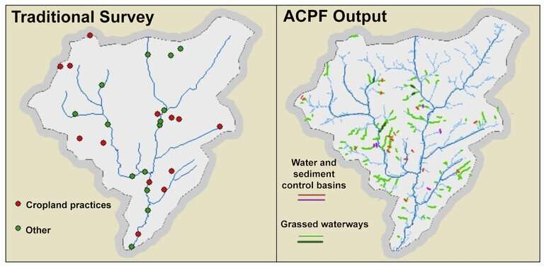 Software tool that finds spots for water-quality devices will work in Northeast