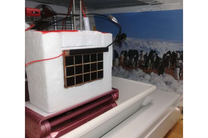 Solar hydrogen for Antarctica -- study shows advantages of thermally coupled approach