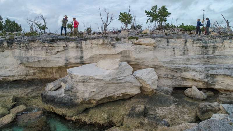 Some past sea levels may not have been as high as thought, says study of rising and sinking landmasses
