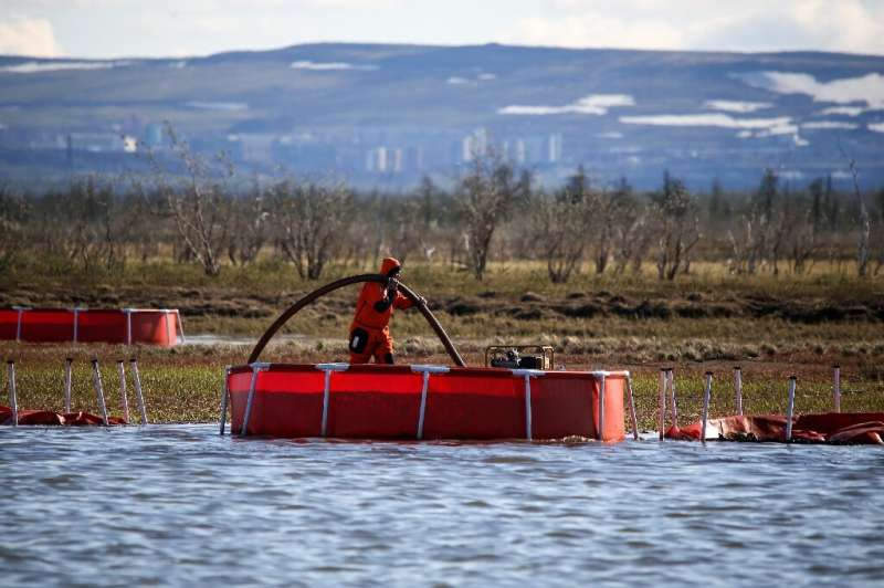 Some 20,000 tonnes of diesel leaked into lakes and rivers near the northern city of Norilsk in May last year when a fuel reservo