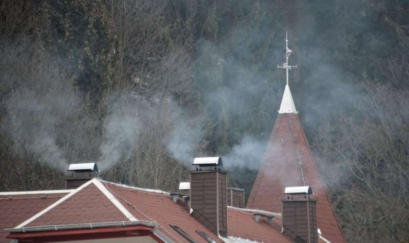 Soot from heaters and traffic is not just a local problem