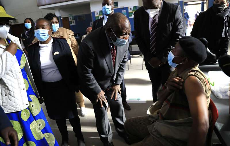 South Africa quickens vaccine drive, gets more doses from US