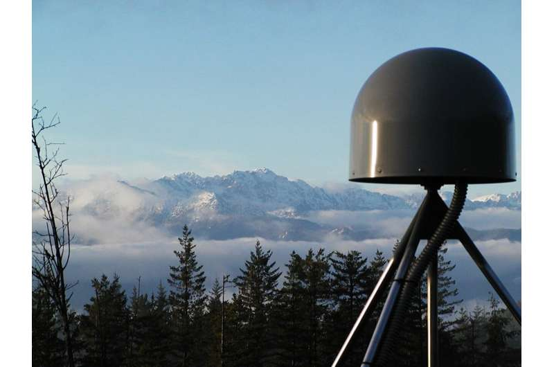 Space-based system can provide seismic monitoring for large earthquakes and tsunamis