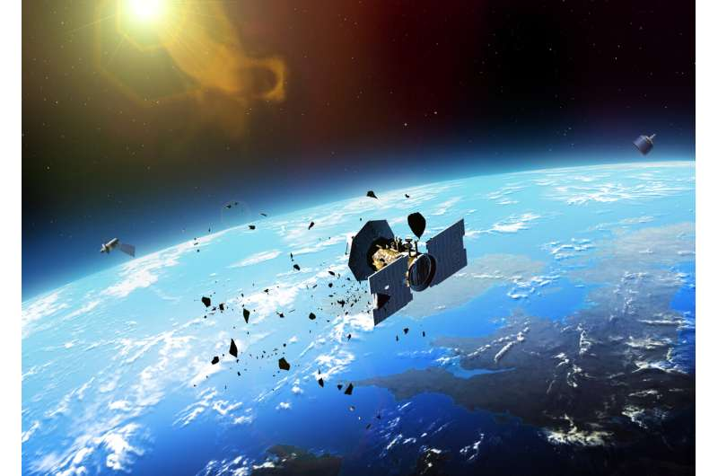 Space junk traffic dangers to be tackled by first-of-its-kind research centre in UK