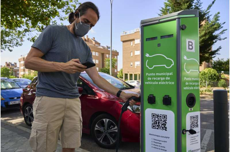 Spain hopes to jumpstart electric car industry with EU funds