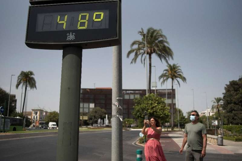 Spain is evaluating provisional data that suggests record temperatures