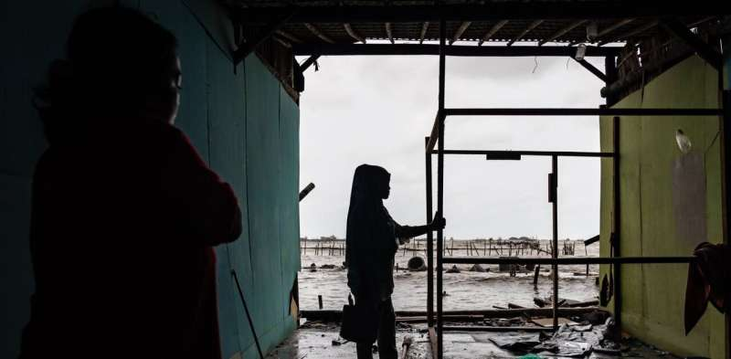 Staying afloat: research discovers women's unique views of COVID-19 in an Indonesian fishing village