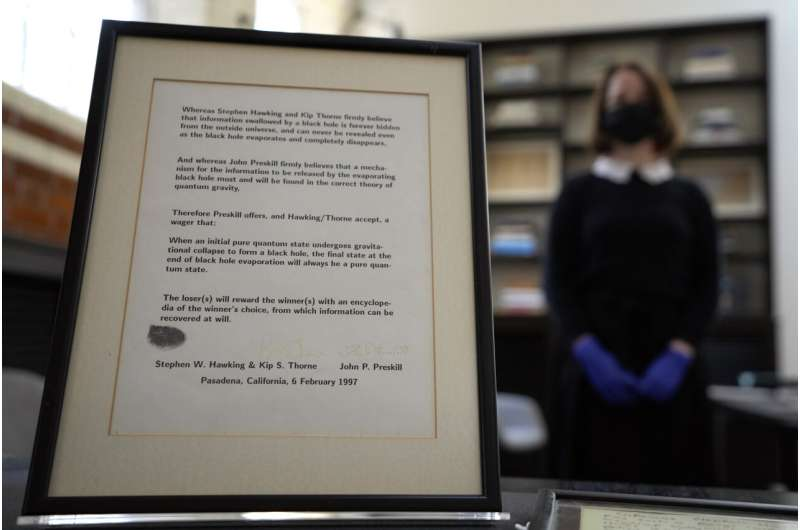 Stephen Hawking's archive, office acquired for UK public