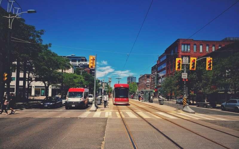 streetcar sidewalk