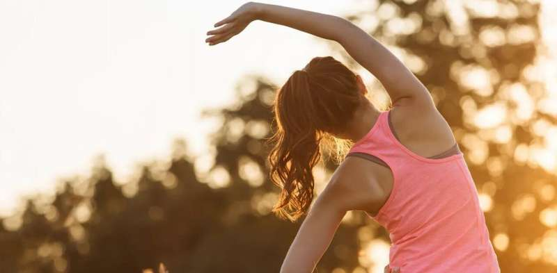 Stretching can increase your tolerance for pain
