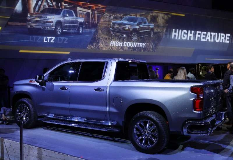 Strong demand for the Chevrolet Silverado and other large vehicles enabled General Motors to score solid US sales in the fourth