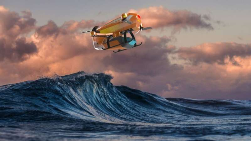 Student designs compact lifesaving drone for beach rescue teams after witnessing teenage surfer battle dangerous waves