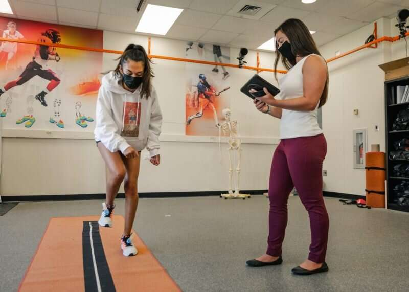 Student's research finds ACL recovery results and implications for returning to sport