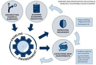 Une étude identifie les principaux obstacles au financement d'une économie océanique durable