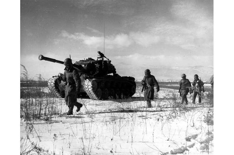 Study reveals food scarcity, desperate diet of Marine killed in Korean War